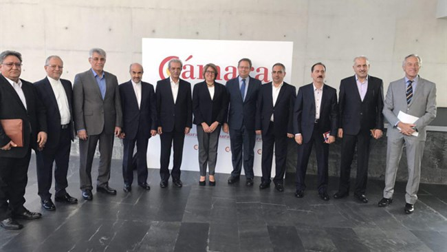 A high-ranking trade delegation from the Iranian private sector travelled to Madrid, Spain, and met with the heads of CESCE, the European nations export credit agency, to resolve banking and insurance issues impeding the development of bilateral trade.