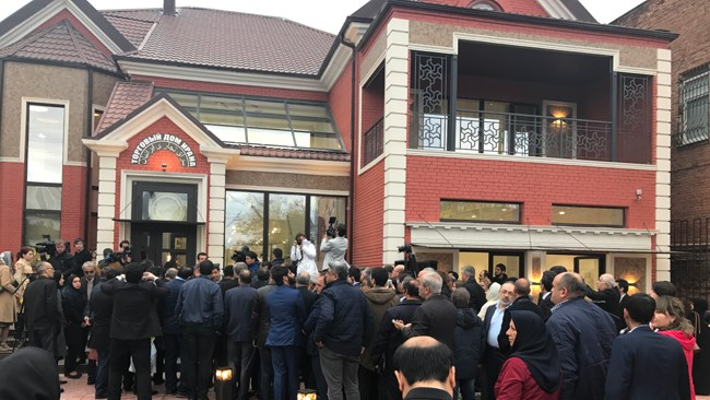 Iran Trade Center was inaugurated in the southern Russian city of Astrakhan on Wednesday.