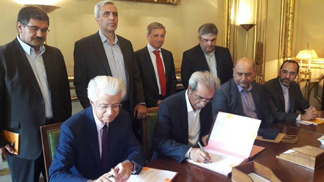 Iran Chamber of Commerce, Industries, Mines and Agriculture (ICCIMA) and Paris Île-de-France Regional Chamber of Commerce and Industry (CCIP) signed an agreement to enhance educational and research cooperation.