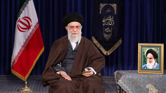 Leader of the Islamic Revolution Ayatollah Khamenei offers congratulations to Iranians on New Year, calling on the entire nation to dedicate their efforts to promoting domestic production in line with Resistant Economy.
