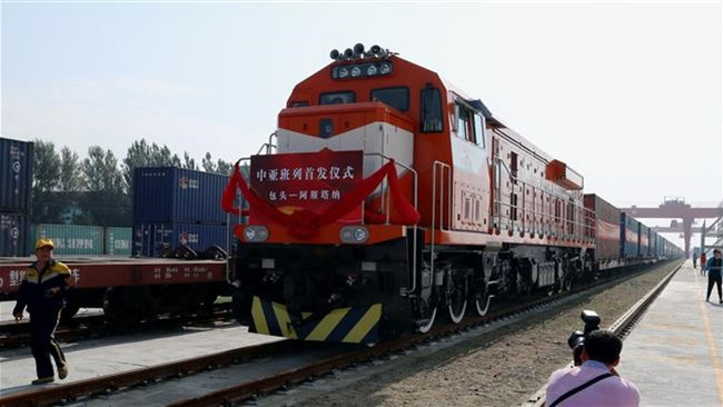 China on Thursday launched a freight train service that connects its northern regions to Iran's capital Tehran in what could be a major connectivity project of vital importance to the flow of trade between the two countries.
