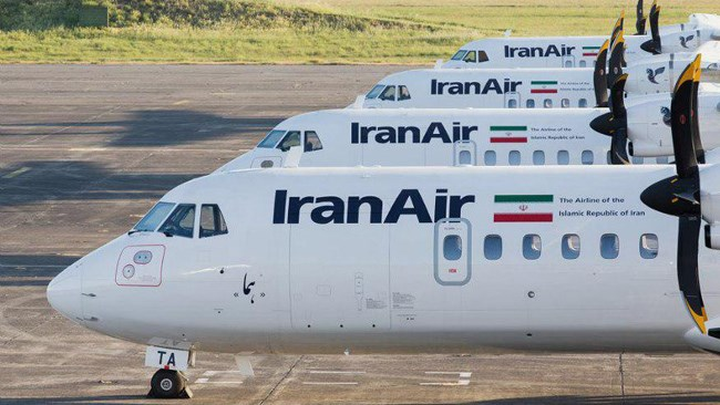 Iran Air said Saturday it was set to take delivery of five new planes from Franco-Italian firm ATR just before renewed US sanctions go into effect.