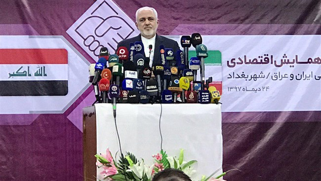 Iranian FM Zarif is in Iraq to cement political and economic relationships with the Arab neighbour. His visit follows a short visit by US Secretary of State, Mike Pompeo, aimed at urging Baghdad to stop engaging with Iran.