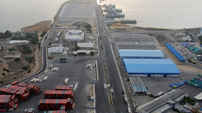 Shaheed Beheshti Port in Iran's south-eastern Chabahar Port and Free Zone, partly developed by India, is an important access to free waters for both Iran and landlocked Afghanistan as well as New Delhi that wants to bypass Pakistan.