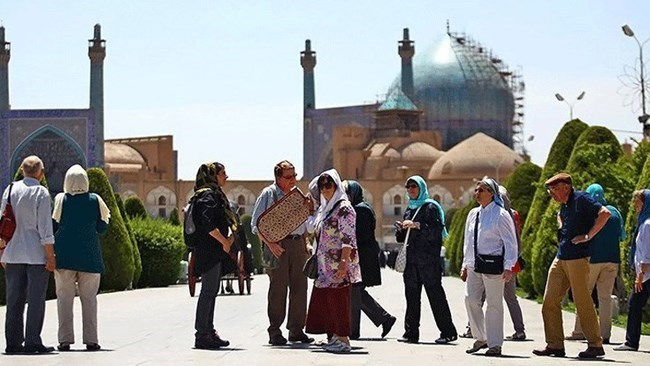 The Iranian president has authorised the interior ministry not to stamp foreign tourists' passports to avoid the US retaliation and hike its own revenues from the tourism sector.