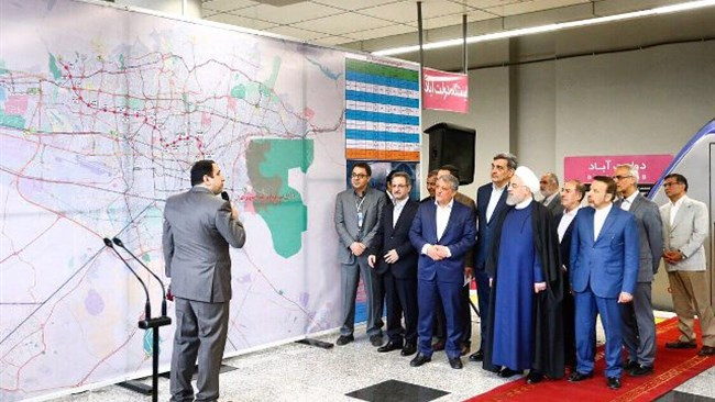 Tehran Municipality says that in collaboration with a French engineering and consulting group and the Iranian engineering group Gueno, four new subway lines have been mapped for Tehran