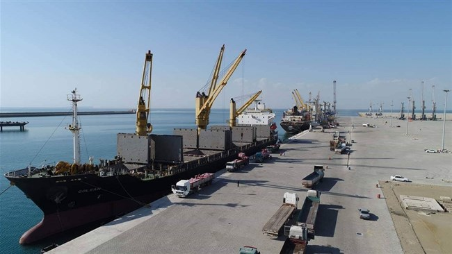 Afghanistan has exported fruit to India through Iran's strategic port of Chabahar for the first time since the corridor was opened several months ago.