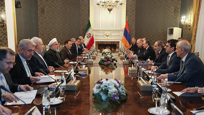 The US has been pressuring Iran's neighbours to change their course as part of its so-called maximum pressure campaign on Tehran. But, Armenia says the US has come to understanding that it can't do so.
