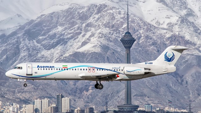 Iranian airlines have cancelled nearly 90 percent of their flights planned for a holiday season after the novel coronavirus pandemic caused many travelers to stay at home.