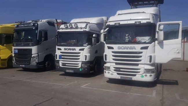 Iran's Roads Maintenance and Transport Organization has announced that 26 trucks and their Iranian drivers are en route to home after being stranded at the borders of Italy, Romania, Bulgaria and Turkey.