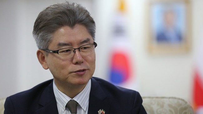 Ambassador of the Republic of Korea to Tehran Ryu Jeong-hyun has explained the mechanisms established by Seoul for conducting humanitarian trade with Iran amid the United States' sanctions. KOHTA which stands for the Korean Humanitarian Trade Arrangement is going to replace the pilot mechanism which is called the GL8.