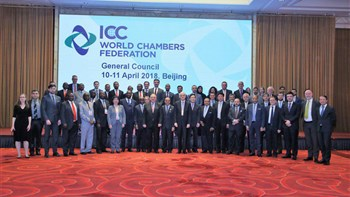 Attending the WCF General Council meetings in Beijing, Iran Chamber of Commerce Vice P Pedram Soltani presented Tehran's bid to co-host the 12th World Chambers Congress (WCC) in 2021 to the organization's chairmanship and representative judges.